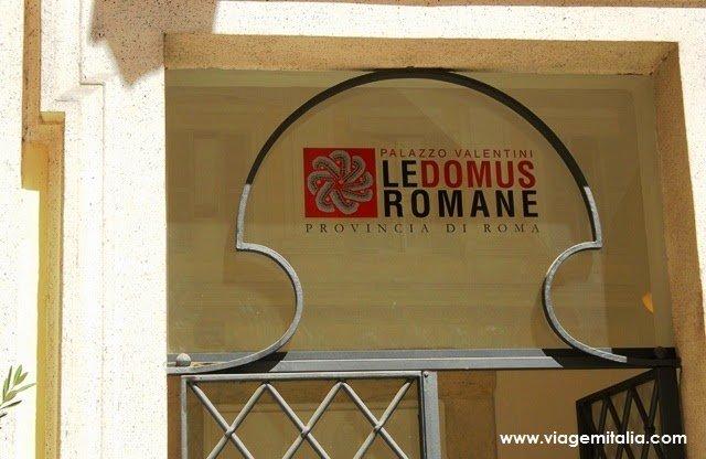 Dicas de Roma. Domus romanas