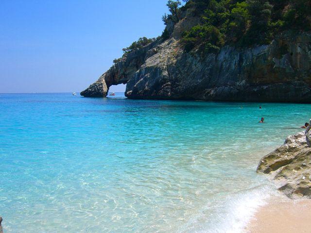 Praias mais bonitas da Itália. Sardenha