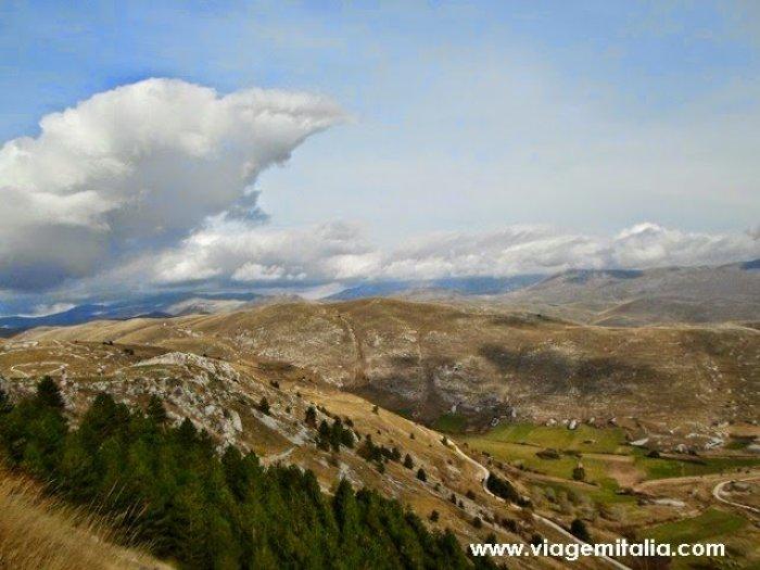 Castelos mais bonitos do mundo: Rocca Calascio
