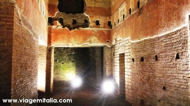 Dicas de Roma Subterrânea - Casa do Imperador Nero