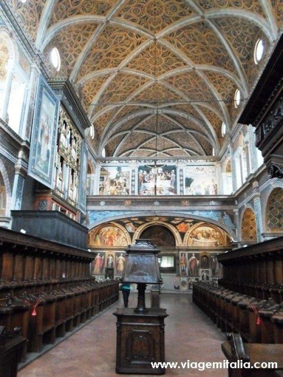 O que fazer em Milão. Igreja de San Maurizio