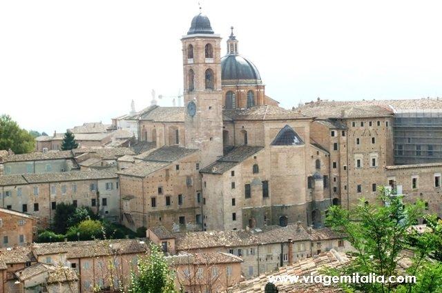 Urbino, Marche, centro da Itália.