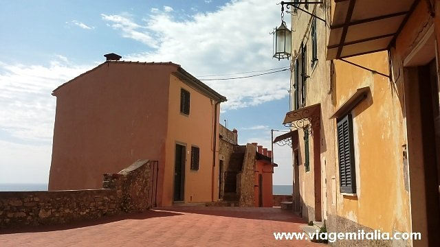 Dicas na Ligúria: Burgo de Tellaro