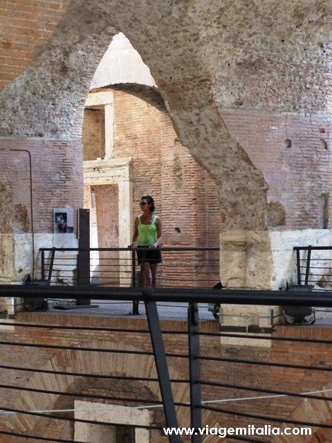Museu dos Fóruns Imperiais: Mercado de Trajano em Roma