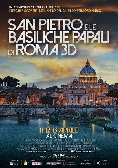 São Pedro e as Basílicas Papais de Roma 3D