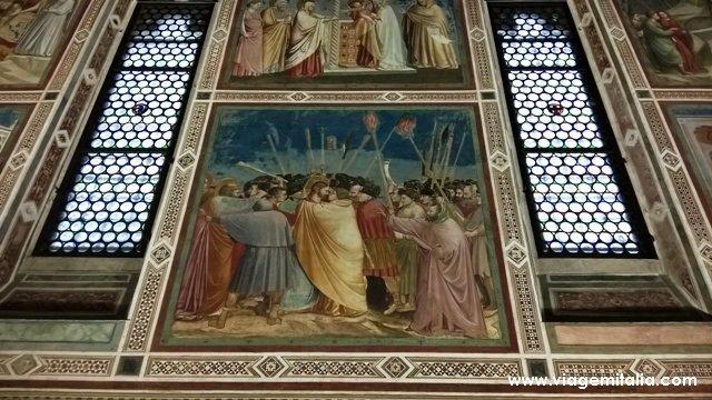 Capela degli Scrovegni e os afrescos de Giotto