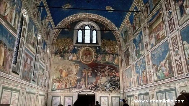 Capela degli Scrovegni, em Padova