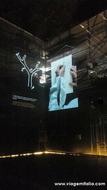 Obras de Leonardo da Vinci na Itália: Sala delle Asse, Milão