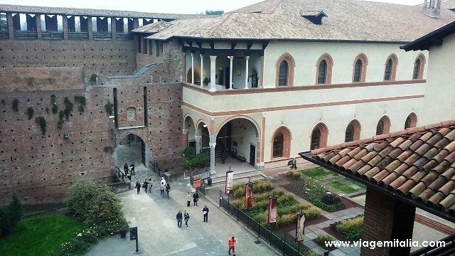 Castelo Sforzesco de Milão