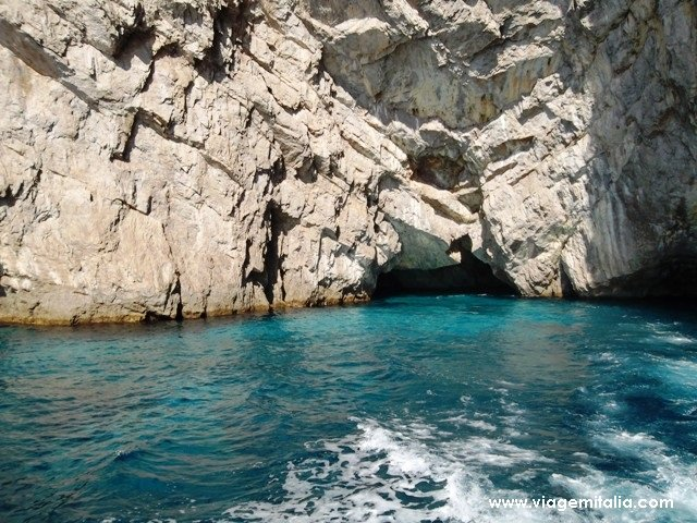Bate-volta de Positano a Capri de barco