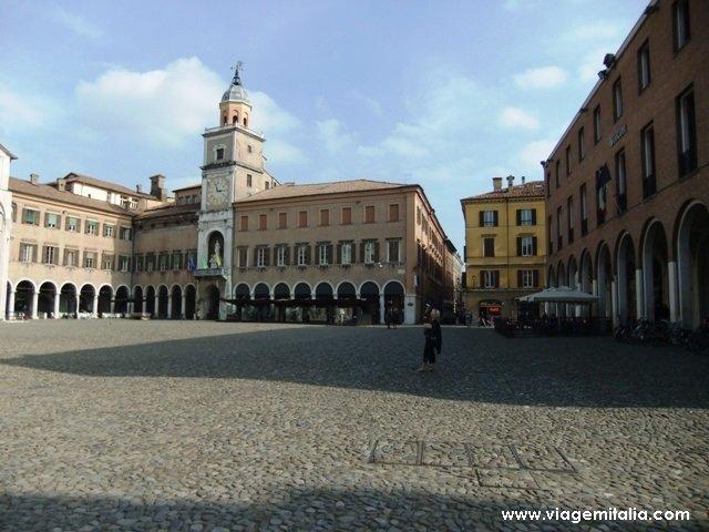 Piazza Grande, Modena, Emilia-Romagna