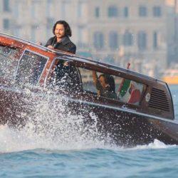 Táxi aquático em Veneza
