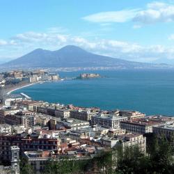 Serviços turísticos em Nápoles (Napoli), Itália
