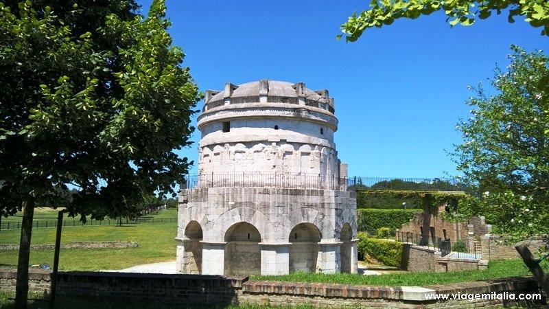O que ver em Ravenna: Mausoléu de Teodorico