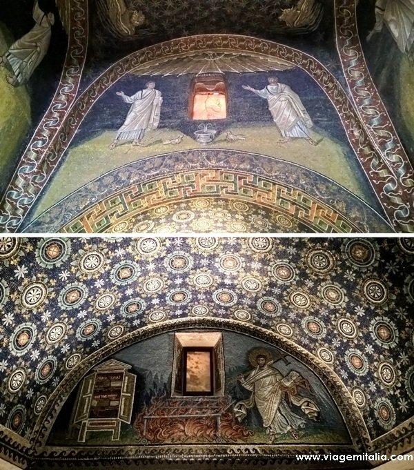 O que ver em Ravenna: Muasoléu de Galla Placídia