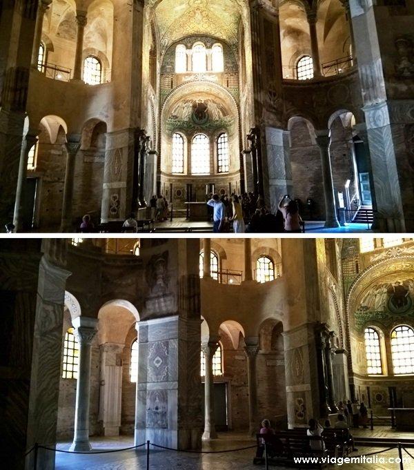 O que ver em Ravenna: Basílica de San Vitale