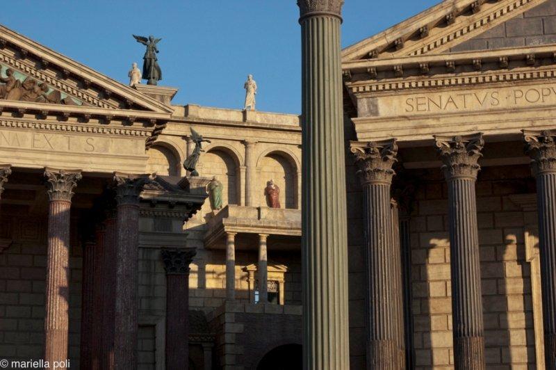 Estúdios de Cinecittà em Roma