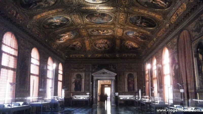 Curiosidades da Biblioteca Marciana, Veneza