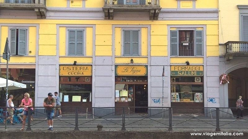 Dicas de viagem na Itália. Bairro Navigli em Milão