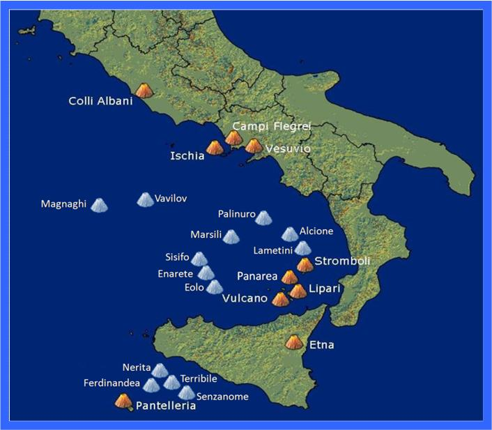 🌋 Vulcões na Itália: Etna, Vesúvio, Stromboli, Vulcano, etc.