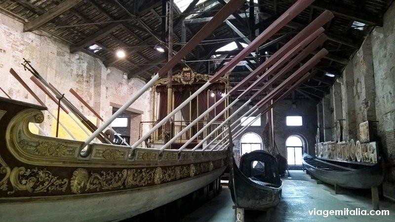Museu Naval de Veneza, norte da Itália
