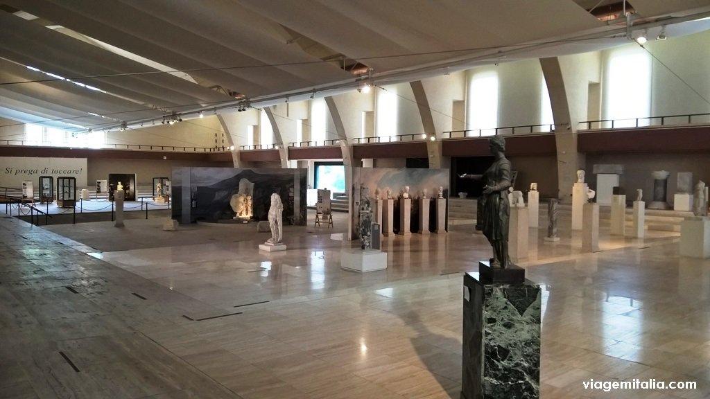 Museus dos barcos de Calígula, perto de Roma
