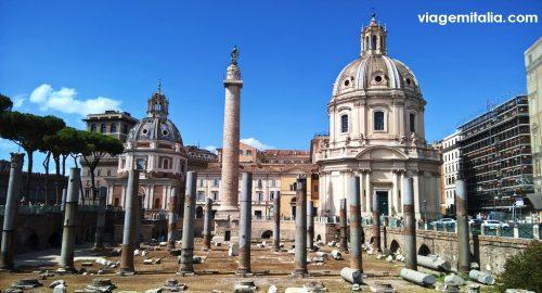 Fórum Romano com Roma Pass. Pontos de informações turísticas em Roma