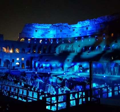  Sangue e Arena. Show imersivo no Coliseu de Roma