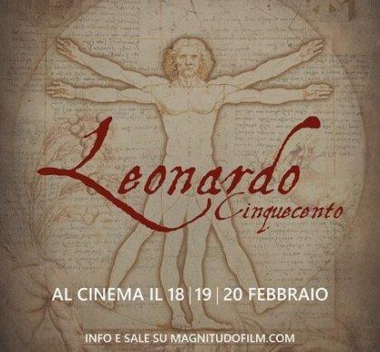 ️ Filme Leonardo Cinquecento. Para celebrar a genialidade de Da Vinci