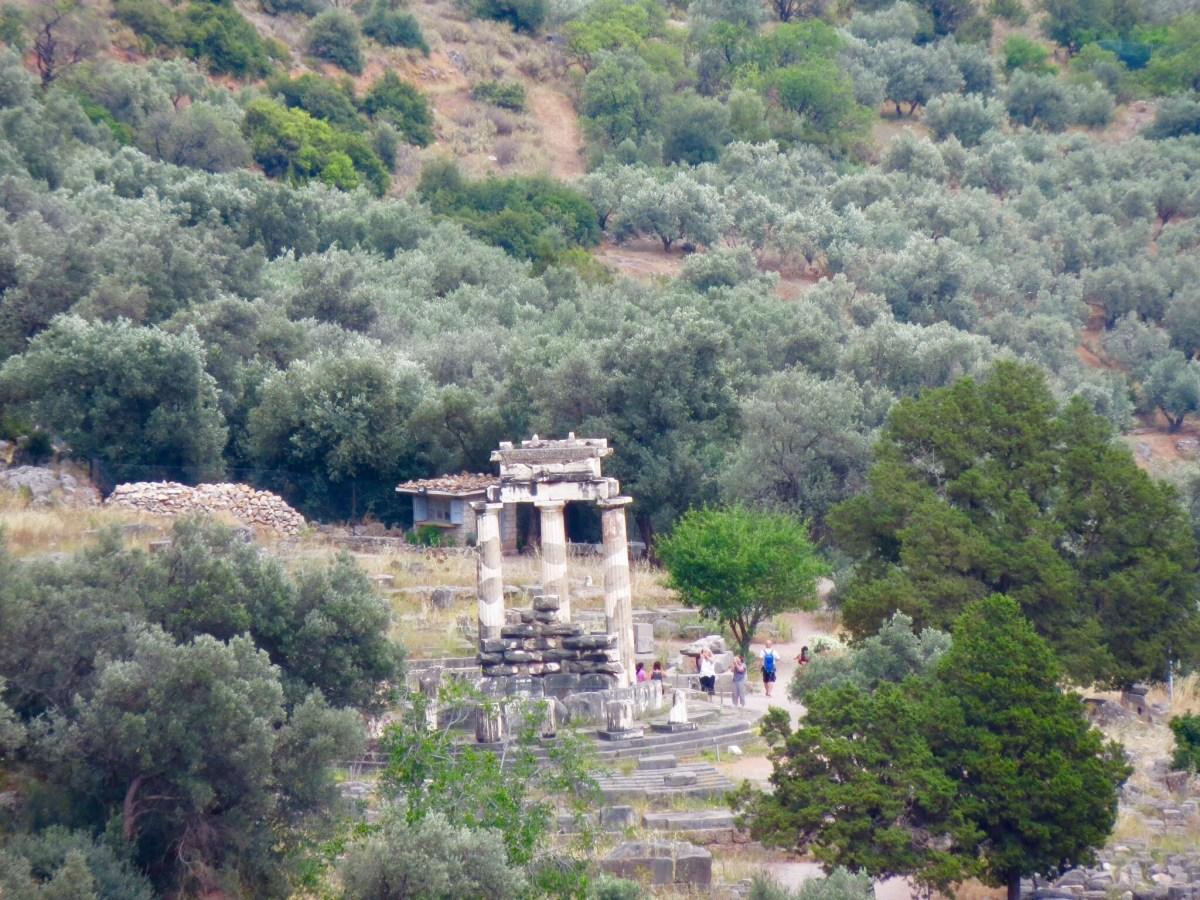 Delfos (o umbigo do mundo) + Arachova