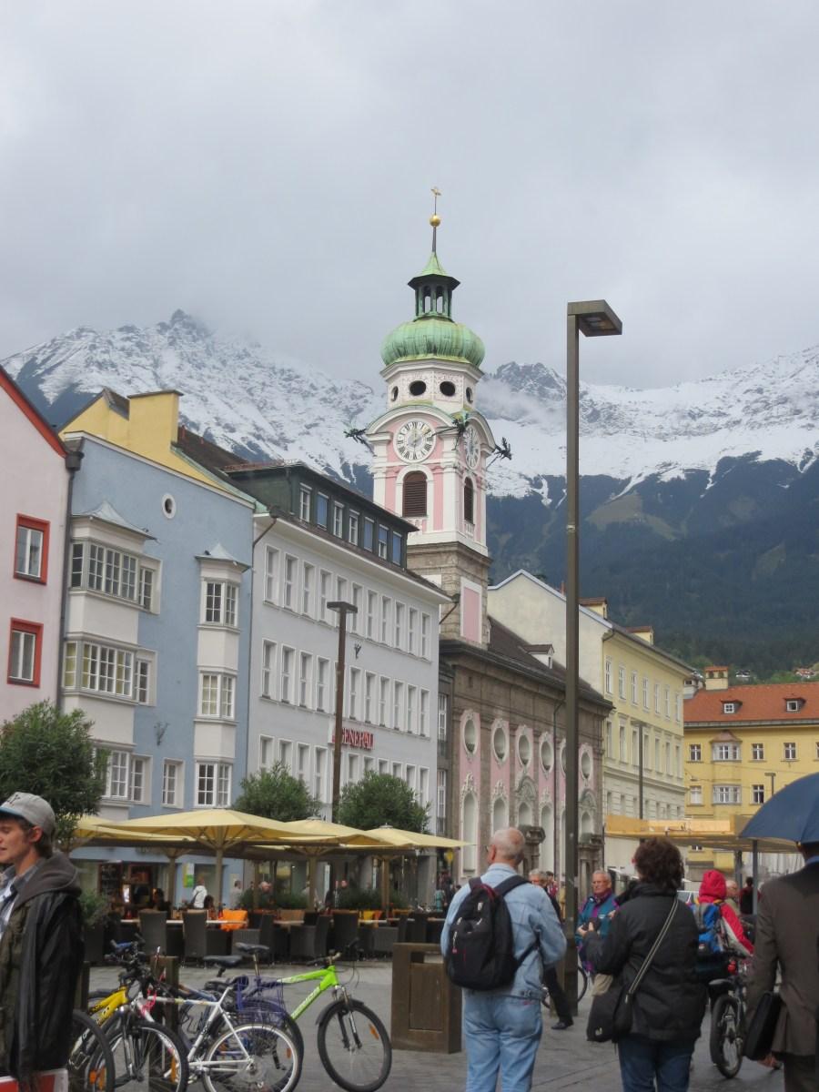 Innsbruck, a cidade mais famosa da região do Tirol
