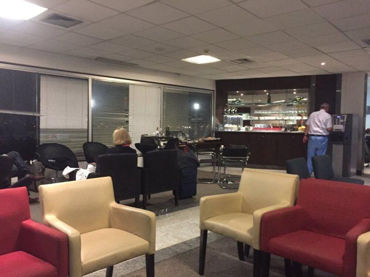 Sala Vip Aerolineas Argentinas no Galeão.