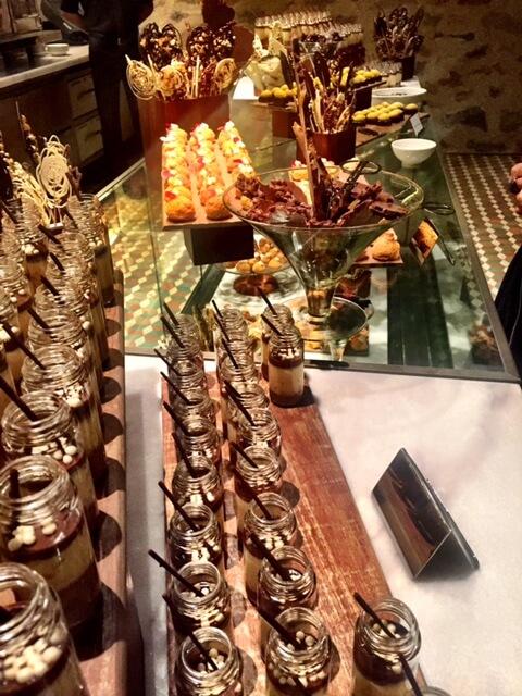 A fantástica mesa de doces!