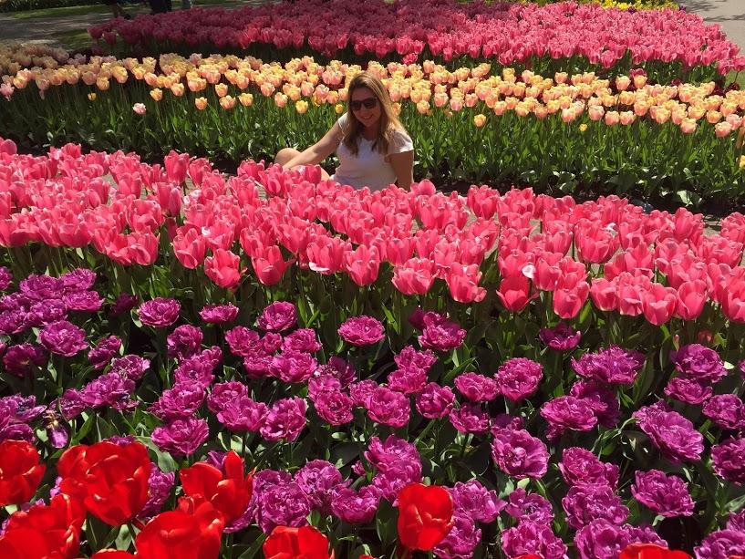 Keukenhof e as lindas tulipas holandesas