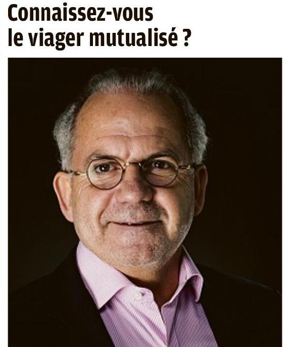 Eric Guillaume - Président Virage Viager Le Viager Mutualisé