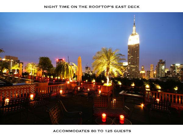 Aperitivo sui grattacieli di New York le terrazze pi