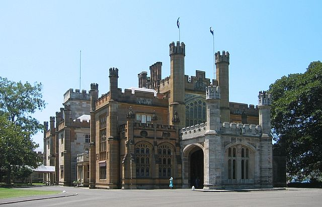 Government House in Sydney