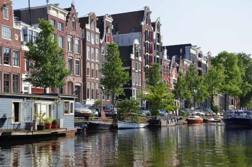 Arte sui Canali di Amsterdam