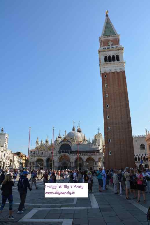 Venezia, Piazza San Marco, Basilica e Campanile