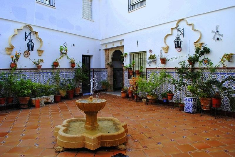 Tipico patio di Cordoba