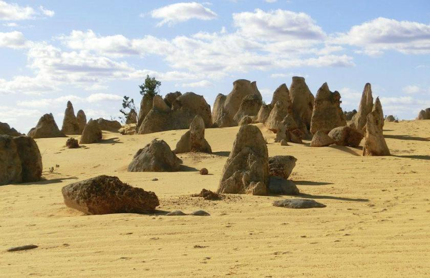 Il deserto dei pinnacoli