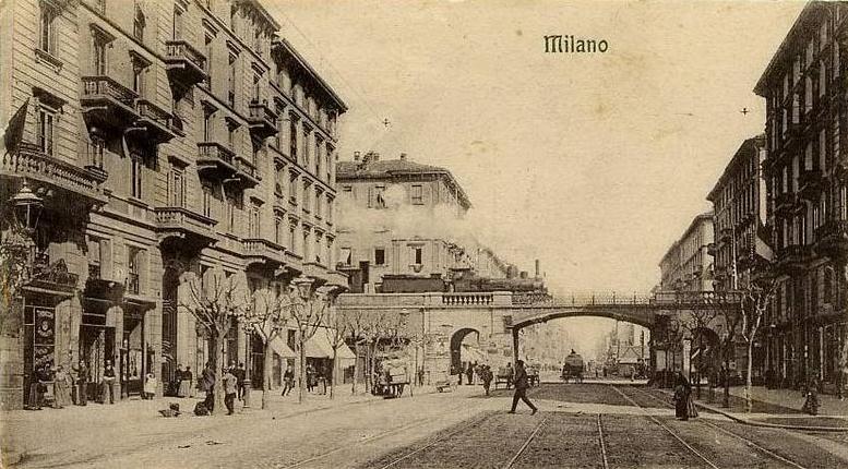 Corso Buenos Aires, Milano nel 1907