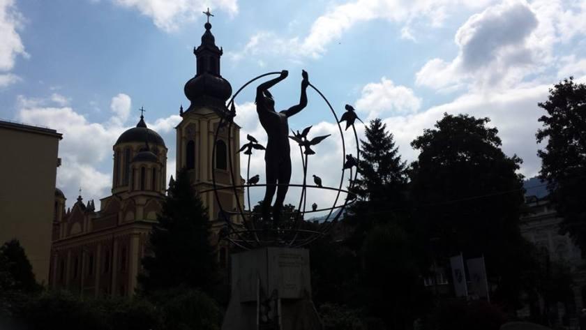 Monumento Multiculturalismo Sarajevo
