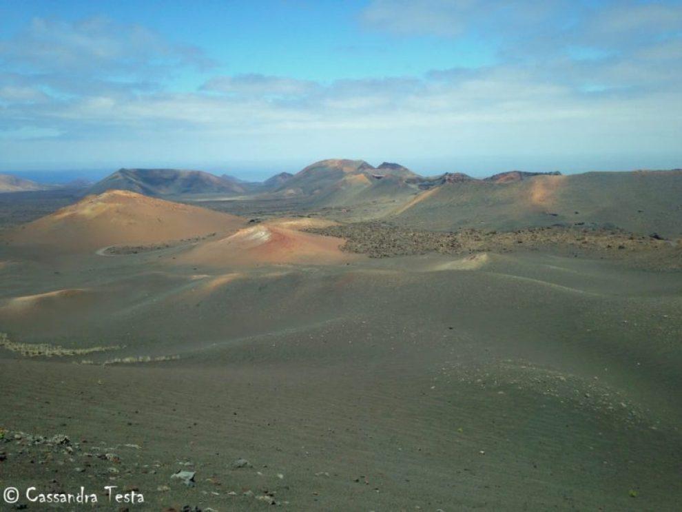 Montanas del Fuego, Lanzarote