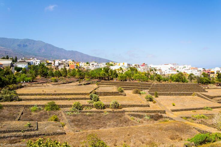 Panorama sulle piramidi di Guimar