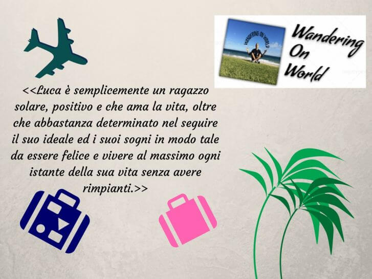 Travel Interview Luca