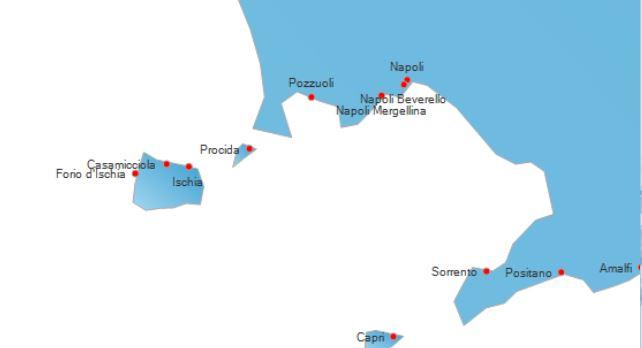 Raggiungere Ischia in Traghetto