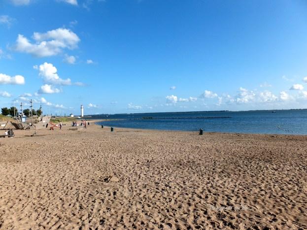 Spiaggia sul Mare del Nord