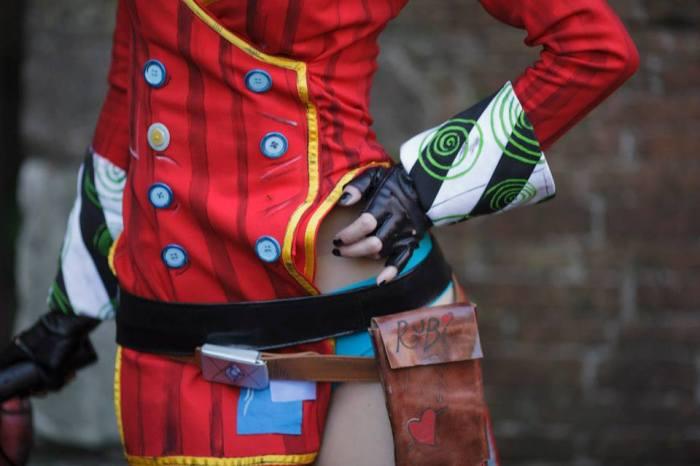 Una cosplay al Lucca Comics & Games 2014