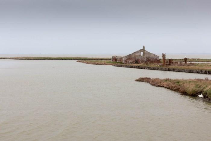 Delta del Po - Ruderi nell'acqua
